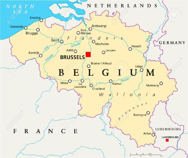 32518898-b-lgica-mapa-pol-tico-con-un-capital-de-bruselas-de-las-fronteras-nacionales-las-ciudades-m-s-import-foto-de-archivo