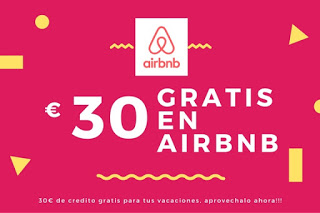 Registrate en Airbnb y consigue 30€ de credito!