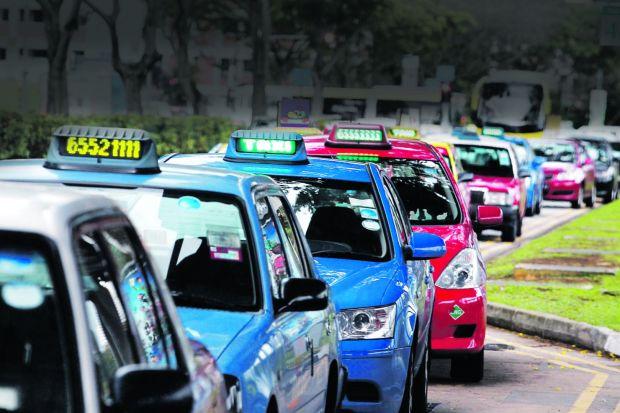 Taxis-en-Singapur