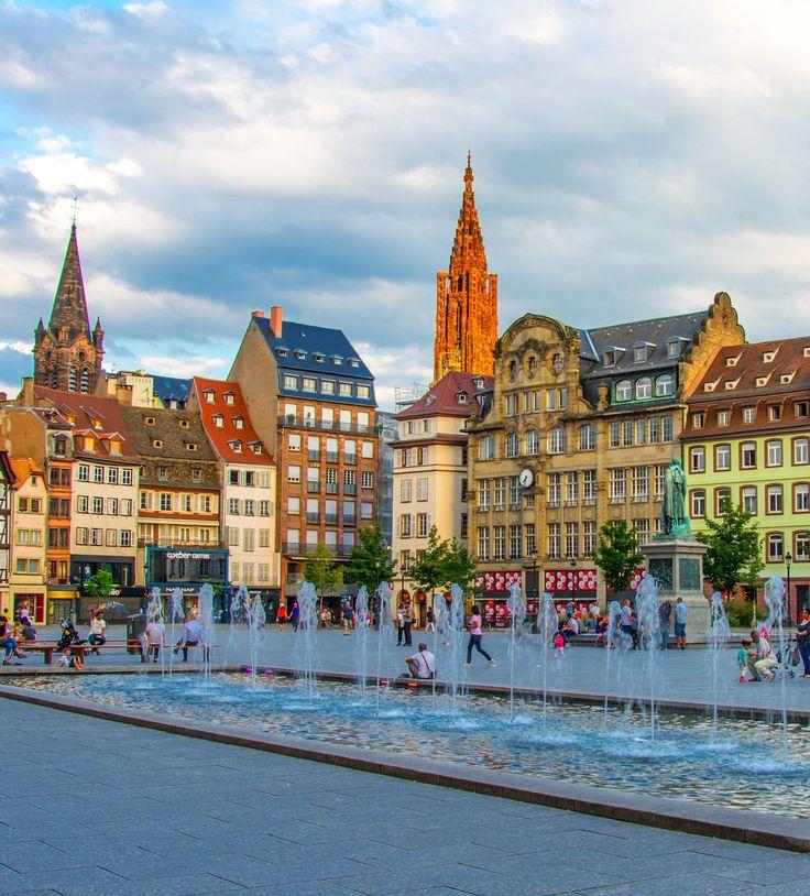 Estrasburgo y obernai en un d a markelistravels for Alsace carrelage strasbourg